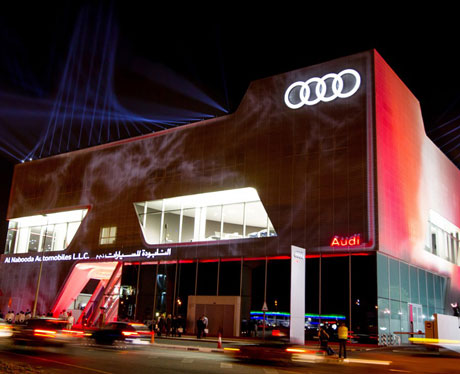 Audi Opening the biggest showroom in the world