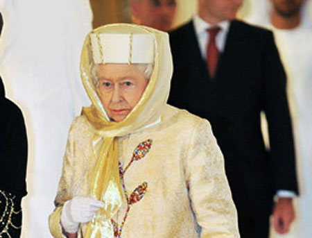Her Majesty Queen Elizabeth II visits the UAE